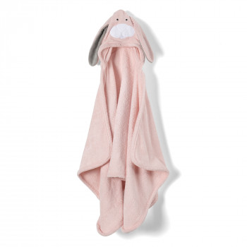 Animal-Bunny Hooded Towel- Child