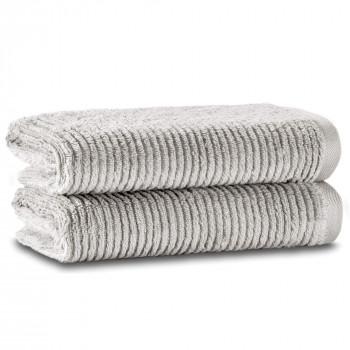 Slim Ribbed İkili Havlu Seti 76x142 Fibrosoft ®