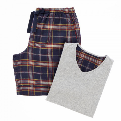 Edward Flannel Shorts & Top
