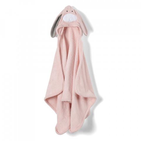 Animal-Bunny Hooded Towel- Child