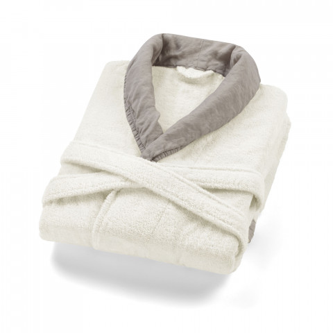 Hampton Bornoz-Ivory Warm Gray-SM