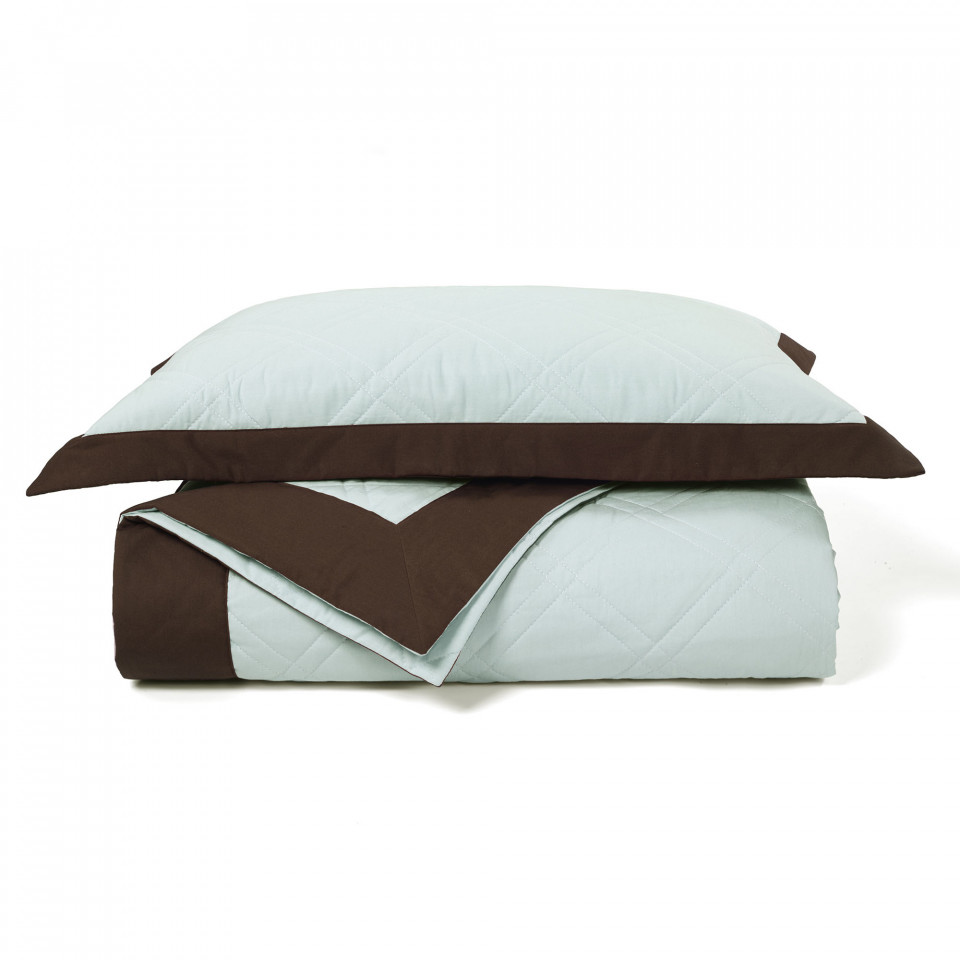 Soho frame quilted bed cover set for Quilted bed frame