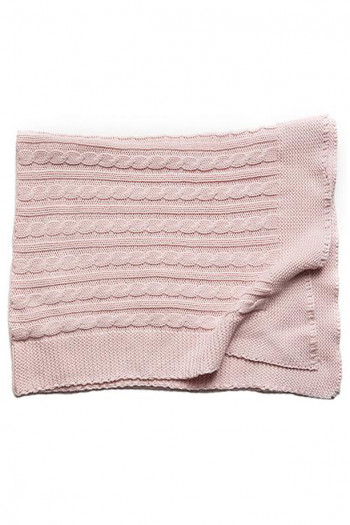 Angel Baby Knitted Blanket 70x100