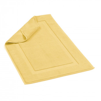 Brighton Bathmat Lemon 20x31 Inch