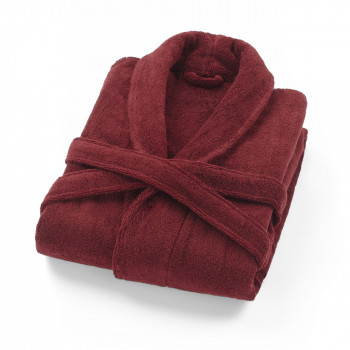 Chicago Bathrobe-Red Wine-S