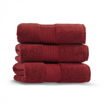 Chicago Towel Red Wine 28x55 Inch