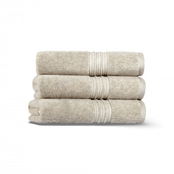 Antique Set of Three Towel Set 33x33 Fibrotint ®