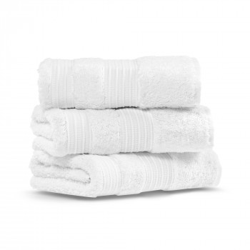 London Set of Three Hand Towel Set