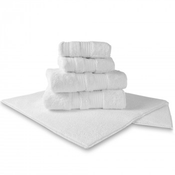 London Towel & York Bathmat Set