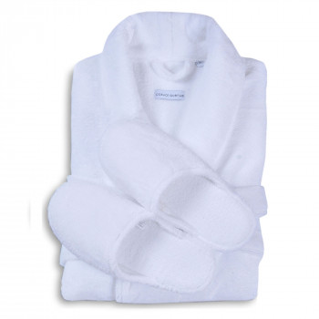 Santana Slippers & Bathrobe Set