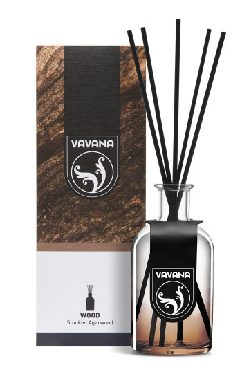 Vavana Reed Diffuser Wood Coll. -Smoked Agarwood