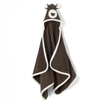 Animal- Bear Hooded Towel- Child