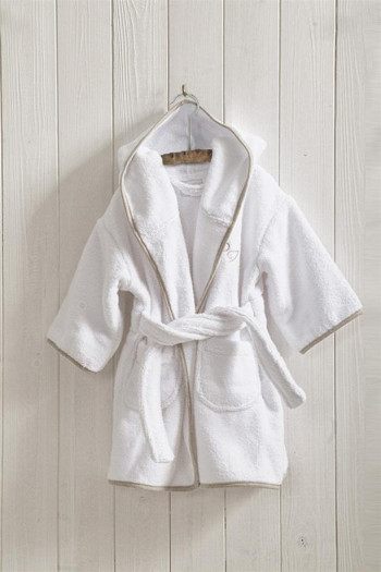 Angel Hooded Bathrobe