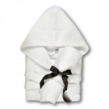 Chicago Towel and Hooded Bathrobe Set