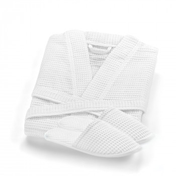 Mia Slippers & Bathrobe Set