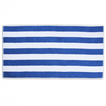 Serviette Tampa Blue White 28x55 Inch