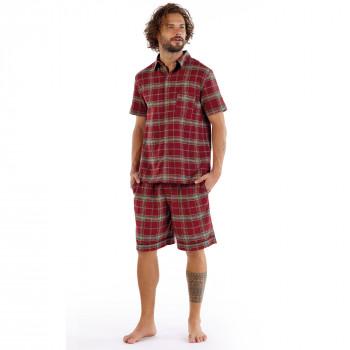 William Flannel Shirt & Shorts