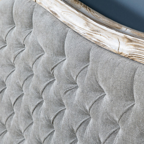 Empire Tufted Bed without Footboard