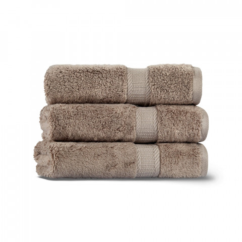 Fancy Set of Three Towel Set 33x33 Fibroluxe ®
