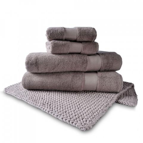 Valencia Bambou Towel & Norvage Bathmat Set